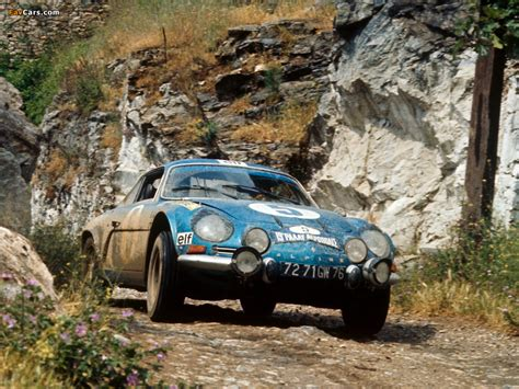 Renault Alpine A110 Rally Car wallpapers (1024x768)