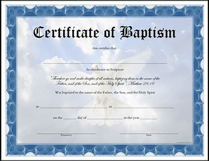 Baptism Certificate Printable Craft Template Appealing