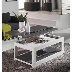 Table De Salon Transformable : table basse transformable camif ~ Teatrodelosmanantiales.com Idées de Décoration