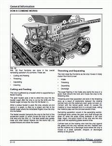 Massey Ferguson Rotary Combine 9695    9795  Repair Manuals