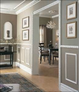 Dining Room Wall Panel Molding