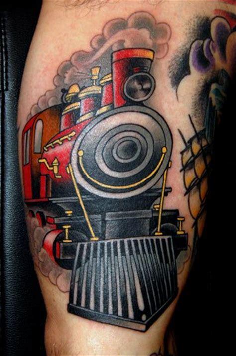 arm  school train tattoo  jim sylvia