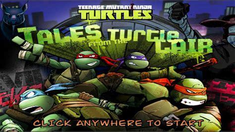 teengage mutant ninja turtles games tales   turtle lair nick asiacom