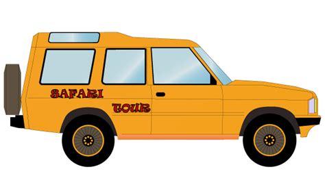 safari truck clipart safari off road car vector free 123freevectors