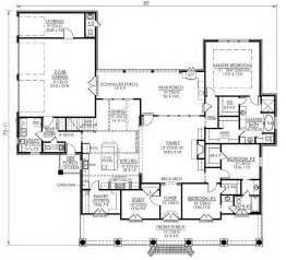 4 bedroom 2 house plans southern style house plans 2674 square home 1 4 bedroom and 2 3 bath 2 garage