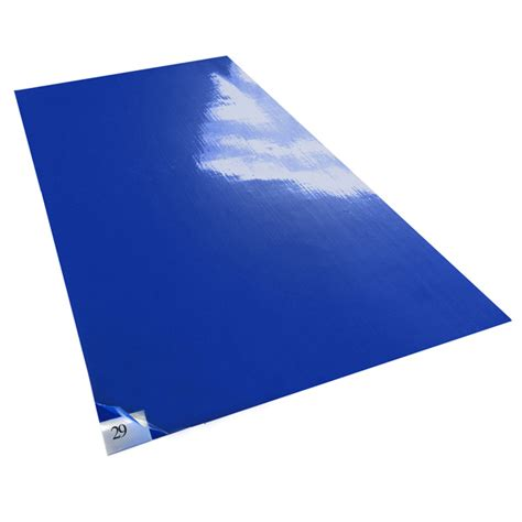 Blue Doormat by Tacky Traxx Blue Cleanroom Sticky Mats The Ultimate
