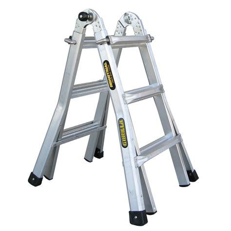 aluminium ladder bunnings gorilla mighty 11 multi purpose aluminium ladder