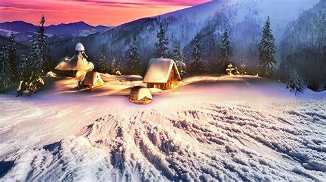 bilder blumensträußen bilder karpaten ukraine natur winter gebirge fichten schnee geb 228 ude