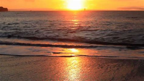 Nature Relaxation Wmusic Soothing Ocean Sunset San