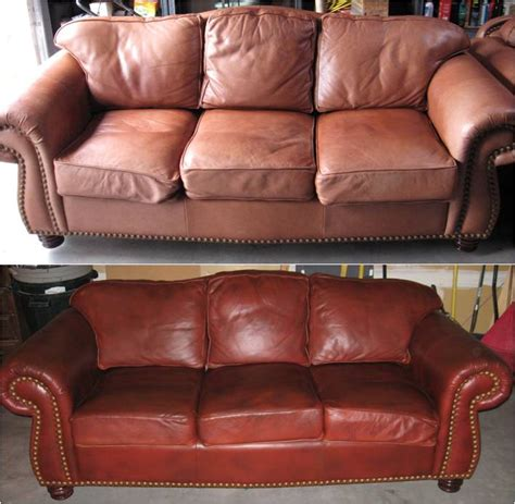 Leather Refinishing Sofa Exciting Refinishing Leather
