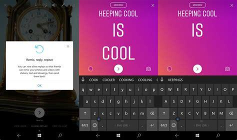 instagram otrzymuje dużą aktualizację w windows 10 mobile msmobile pl