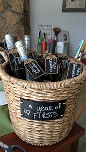 a year of firsts great bridal shower present by just With wedding shower baskets