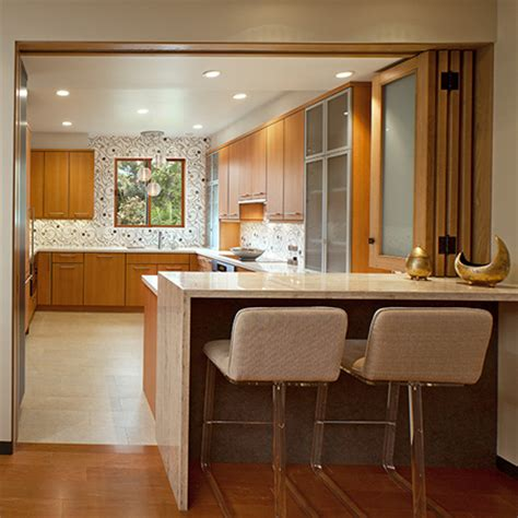 efficient small home plans home dzine kitchen closing an open plan kitchen or