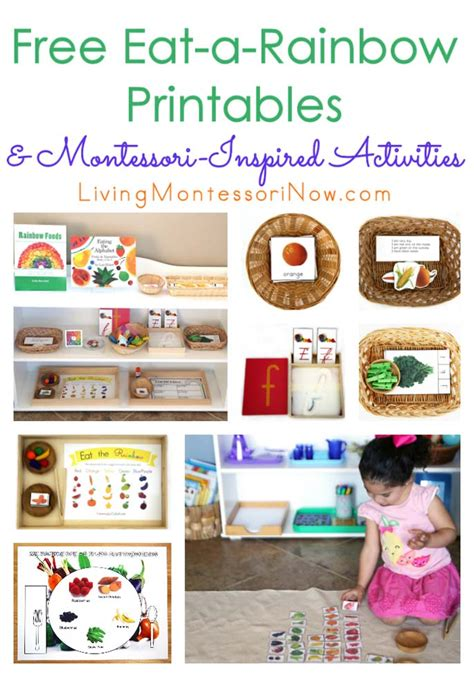 free eat a rainbow printables and montessori inspired 367 | Free Eat a Rainbow Printables and Montessori Inspired Activities