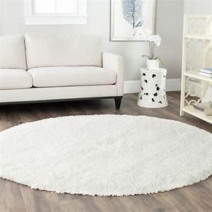 Teppich Unter Sofa : teppich rund 40 innendesigns mit rundem teppich die sehenswert sind ~ Frokenaadalensverden.com Haus und Dekorationen