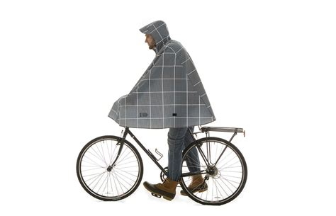 bicycle raincoat biking in the rain gear tips and gentle encouragement