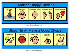 Asd Behaviour Chart Visual Supports For Behavior Social Skills Classroom