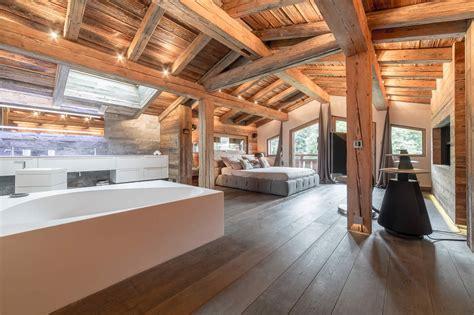 chalet de luxe a vendre chalet de luxe 224 vendre 224 meg 232 ve chemin 233 e dans la chambre des ma 238 tres dortoir piscine sauna