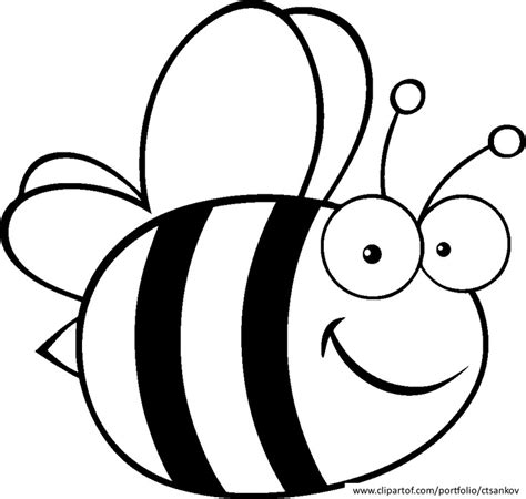 bee coloring pages az coloring pages