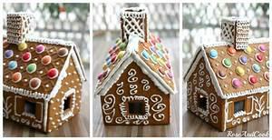 Kit Maison En Pain D épice : manuel de montage simplifi de la maison en pain d 39 pices ~ Teatrodelosmanantiales.com Idées de Décoration