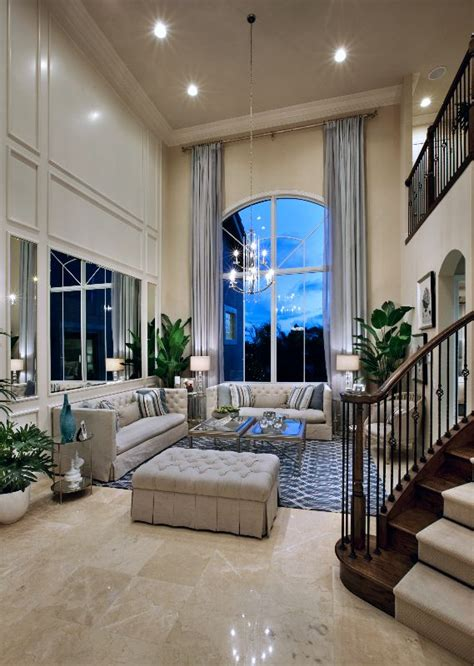 grand  story family room toll brothers  frenchmans harbor fl family rooms