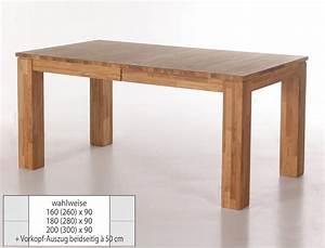 Esstisch Ausziehbar Skandinavisch : eichetisch harrow 2xl esstisch ausziehbar massivholz ~ Michelbontemps.com Haus und Dekorationen