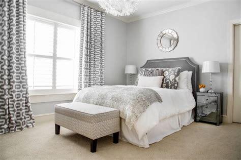 Wandgestaltung-grau-schlafzimmer-hellgrau-beige