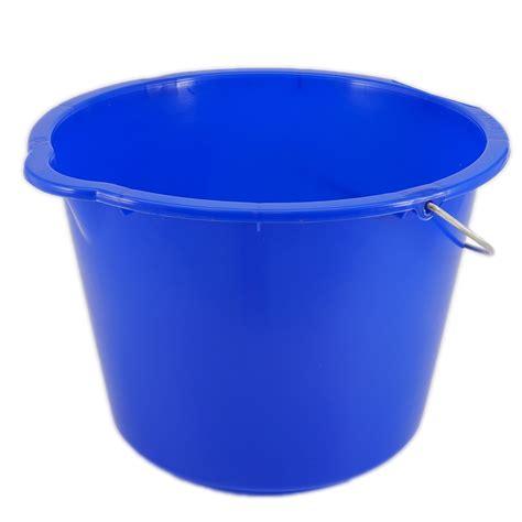 baueimer 20 liter baueimer 20 liter blau mit metallb 252 gel eimer welt de