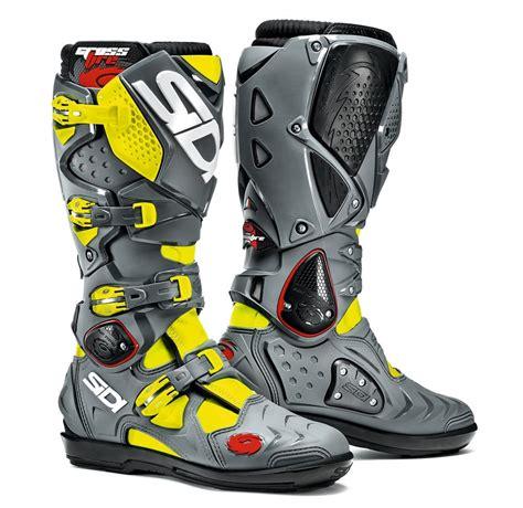 motocross boots sidi 465 06 sidi mens crossfire 2 srs offroad motocross 998331