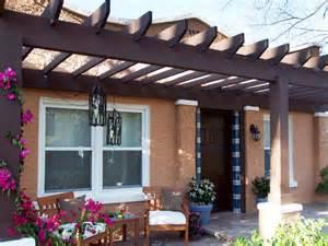 Front Porch Deck Designs with Pergolas