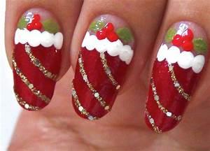 Christmas nail art designs acrylic