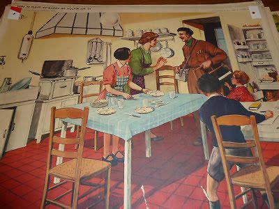 cuisine scolaire ancienne affiche scolaire rossignol 1960 le chasseur a la chasse ecole cuisine affiches
