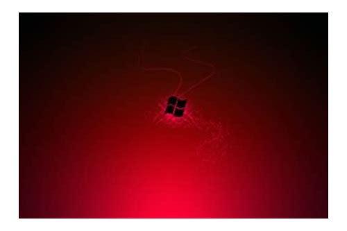 baixar tema alien vermelho para windows 8