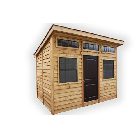 living in a shed outdoor living today 12 ft x 8 ft studio garden shed