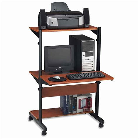 how tall is a desk tall computer desk with shelves tall computer desk with