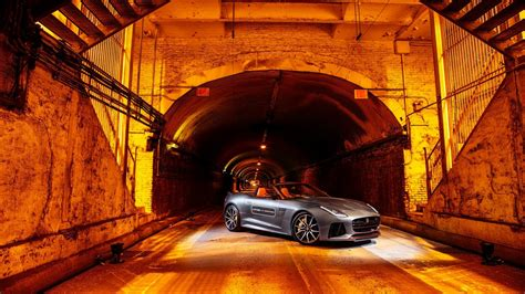 jaguar  type svr park avenue tunnel wallpaper hd