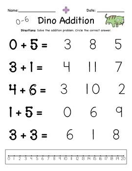 addition worksheets for special education with touch
