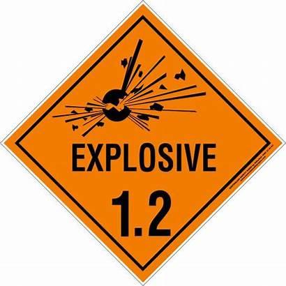 Explosive Class Signs Hazchem Australian Safety 4a
