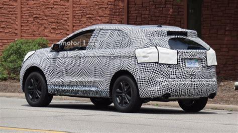 Sharper 2019 Ford Edge Spied Testing Near Dearborn