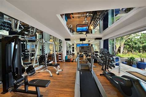 top   extravagant personal home gyms dream house
