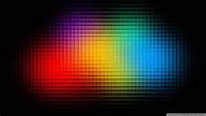 Colorful Pixels 4K HD Desktop Wallpaper for 4K Ultra HD TV