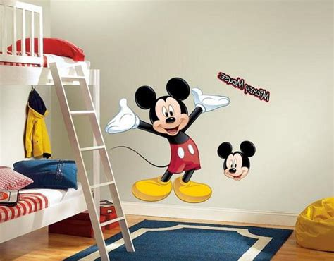 Mickey Mouse Inspired Bedrooms For Kids Rilane, Mickey