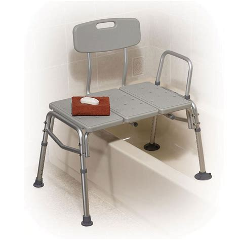 bath transfer bench bathtub transfer bench with commode by drive