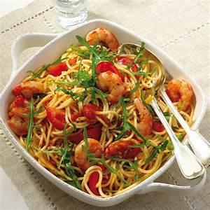 Garnelen Mit Nudeln : tomaten garnelen spaghetti rezept ww deutschland ~ Orissabook.com Haus und Dekorationen