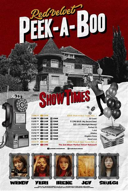 Velvet Perfect Album Tracklist Posters Boo Peek