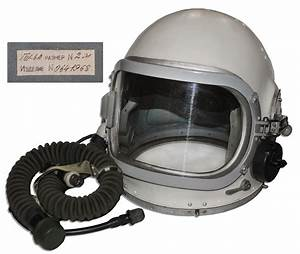 Lot Detail - Cosmonaut Helmet -- Surplus From The Famed ...