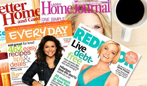 she magazine subscription free one year subscription to better homes whole living redbook and more reloaded
