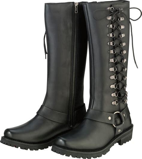 buy motorcycle waterproof boots z1r womens savage waterproof leather motorcycle riding