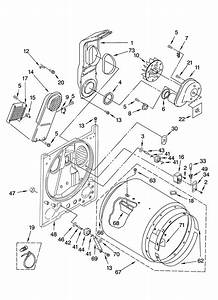 Whirlpool Model Leq9508pw0 Residential Dryer Genuine Parts