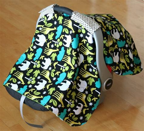 diy carseat canopy baby car seat cover tutorial cluck cluck sew